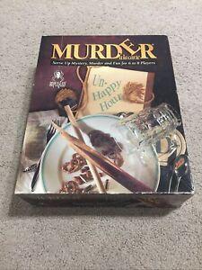 Murder A La Carte Un Happy Hour Murder Mystery Dinner Party Game 1995 Vintage