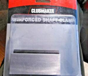 Golf CLUBMAKER reinforced shaft clamp NEW