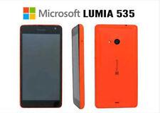 Microsoft Lumia 535 RM-1089 Sbloccato Smartphone Arancione buone condizioni.