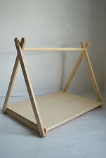 Handmade, Mini Clothes Rail with Shelf, height 70cm easy to Assemble&Disassemble