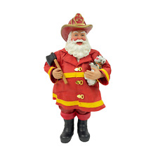 Dept 56 Possible Dreams Fireman Santa from the North Pole Collectable
