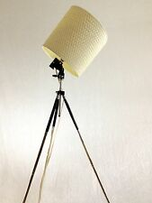 Vintage Tripod Lamp, Small tripod lamp.  Loft Lamp,  Apartment Lamp Studio Lamp