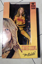 "Kill Bill The Bride 18"" Motion Activated Sound Figure Serie 1 2004"