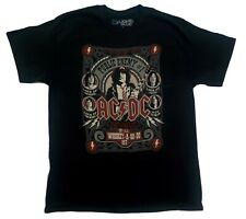 Short Sleeve T shirt, AC DC Size Medium, Band shirt Music, Black, rock n roll