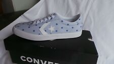 BRAND NEW in box Converse Breakpoint Ox trainers Size 4 EU 37 Polka dot Platinum