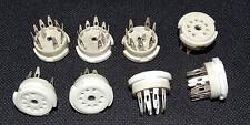 9 pin socket NOVAL  for vacuum electron tube     Röhrensockel  NOS