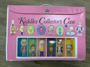 Vintage Mattel KIDDLEs Collector's Case In VGC - Pink Case