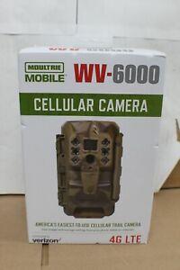 NEW SEALED - Moultrie (WV-6000) - Verizon 4G LTE Cellular Trail Camera - Camo