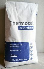 50 Lbs Therrmocal Neutralizer Powder -  Calcium Carbonate Limestone Fertilizer