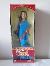 Official Barbie In India Collectors Doll Rare Blue Dress 2004 Made by Mattel.