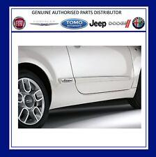 New Genuine Fiat 500 Side Door & Panel Mouldings Set X4 Primed. 50901675