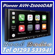 "Pioneer AVH-Z5000DAB 7"" Double Din USB Bluetooth Apple CarPlay Free DAB Aerial"