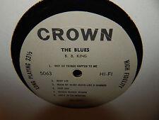 B.B. KING The Blues CROWN 5063 original mono grey label NO JACKET!!! LP