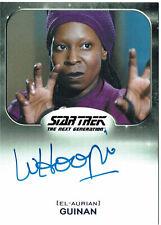 Star Trek Aliens 2014 Autograph Card Whoopi Goldberg as Guinan (El-Aurian)