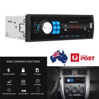 1 DIN Car Bluetooth Stereo USB TF FM MP3 Radio Player RCA Output Head Unit