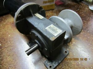 DAYTON 6Z441 GEAR WORM SPEED REDUCER 1/2HP 1725RPM 60:1 RATIO WITH MOTOR