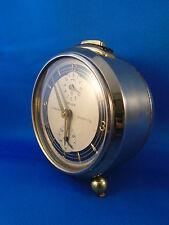 Vintage Junghans mantle Clock-Triple Dial Repetition-GERMAN ART DECO-Working.