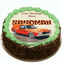 sandman Holden Cake topper edible digital image icing  REAL FONDANT  #754
