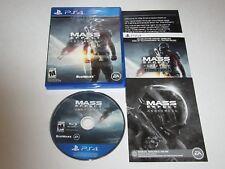 Mass Effect: Andromeda (Sony PlayStation 4, 2017)