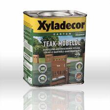 Xyladecor Teak-Möbelöl teak 0,75l Holzöl Teaköl Holzschutzöl