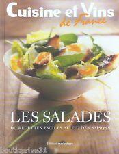 Livre de cuisine - Les salades - 60 recettes faciles au fil des saisons