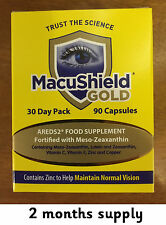 180 Macushield Gold with Omega 3 capsule eye care supplement 2 months supply