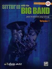 Sittin' In with the Big Band Alto Saxophone Play-Along Music Book/CD
