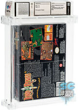 SNES - THE LORD OF THE RINGS - FACTORY SEALED - WATA 9.6 A+ - ATWOOD COLLECTION