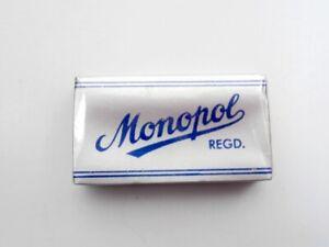 MONOPOL RASIERKLINGEN Rasierhobel Solingen Vintage DE BLADES f. Safety Razor!!