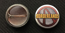 "Borderlands Logo - 1"" Pinback Button Pin - Buy 2 Get 1 Free - xbox PS4"