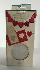 Martha Stewart Heart Garland Paper Craft Punch 42-39010 Valentines Love Party