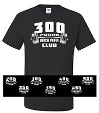 Bench Press CLUB 50/50 T-shirt - Powerlifting Gym Bodybuilding Fitness Lifting