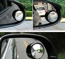 New listing Special Stick-on 2pcs Blind Spot Rear View Rearview Mirror for Car Truc_Dm