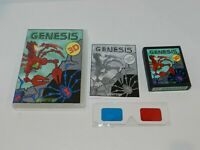 3D Genesis Atari 2600 Game Complete in Box CIB Tested MINT Rare VideoSoft