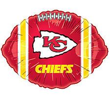 NFL Kansas City CHIEFS FOOTBALL Tailgate Birthday Superbowl Party Balloon