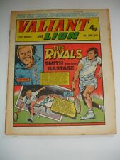 VALIANT And LION comic 29th June 1974.