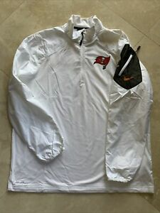 Nike NFL Onfield Apparel Lightweight Tampa Bay Buccaneers 1/2 Zipped Pullover Xl