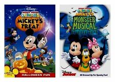 Disney Mickey Mouse Clubhouse Mickey's Treat & Monster Musical Halloween DVD Set