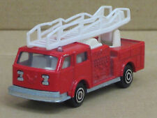 US Feuerwehr Leiterwagen in rot, Majorette, o.OVP, 1:100