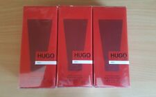 3X HUGO BOSS RED AFTERSHAVE BALM 75ML