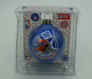 1996 National Champions Gators University of Florida Glass Ornament New