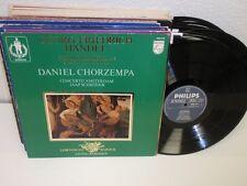 DANIEL CHORZEMPA Handel 1-5 Organ Concertos LP Philips 9502 040 Booklet Vinyl