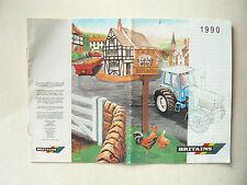 catalogue Tracteur  miniature  BRITAINS  1990   jouet