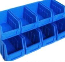 8 Storage Parts Bin Bins BOX  GARAGE HOME WORKSHOP
