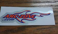 """ARC-ZONE.COM, SKATEBOARD STICKER, 6"""" x 2"""""""