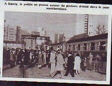 1980  --  NANCY  AFFLUENCE SUR LE QUAI DE LA GARE  P747