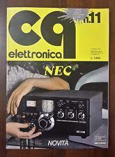 R26> CQ Elettronica Edizioni CD Bologna n.11 novembre 1979