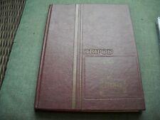 "1981 Thornton Academy High School Yearbook ""Tripod"" Saco Maine"