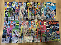 Vintage GI Joe Comics Lot Of 22, Straight Run 38 - 58, Plus #73 Uncertified