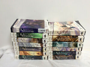 The Forgotten Realms Series Legend of Drizzt (Set 1-13), By R.A. Salvatore